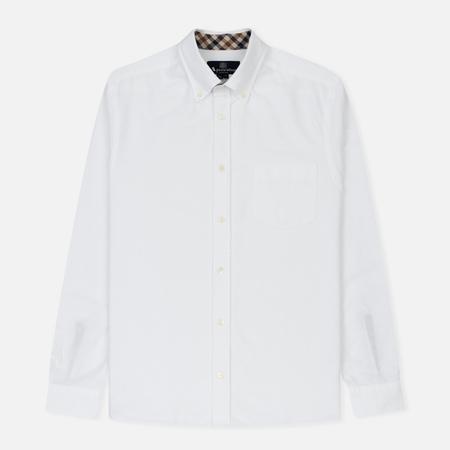 Мужская рубашка Aquascutum Bevan Classic Oxford White