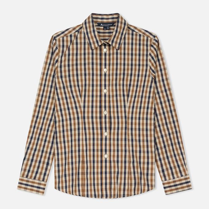 Женская рубашка Aquascutum Bowten 2 Club Check Vicuna