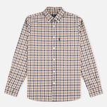 Мужская рубашка Aquascutum Emsworth LS Club Check Vicuna фото- 0