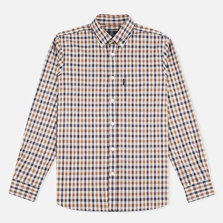 Aquascutum Emsworth LS Club Check Men's Shirt Vicuna