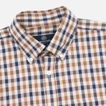 Мужская рубашка Aquascutum Emsworth LS Club Check Vicuna фото- 1