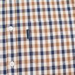 Мужская рубашка Aquascutum Emsworth LS Club Check Vicuna фото- 2