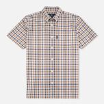 Мужская рубашка Aquascutum Emsworth Club Check SS Vicuna фото- 0