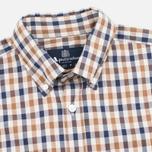 Мужская рубашка Aquascutum Emsworth Club Check SS Vicuna фото- 1
