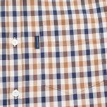 Aquascutum Emsworth SS Club Check Men's Shirt Vicuna photo- 2