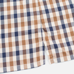 Aquascutum Emsworth SS Club Check Men's Shirt Vicuna photo- 3