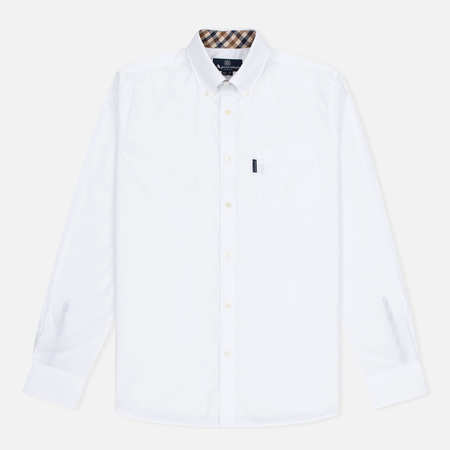 Aquascutum Eshton LS Men's Shirt White