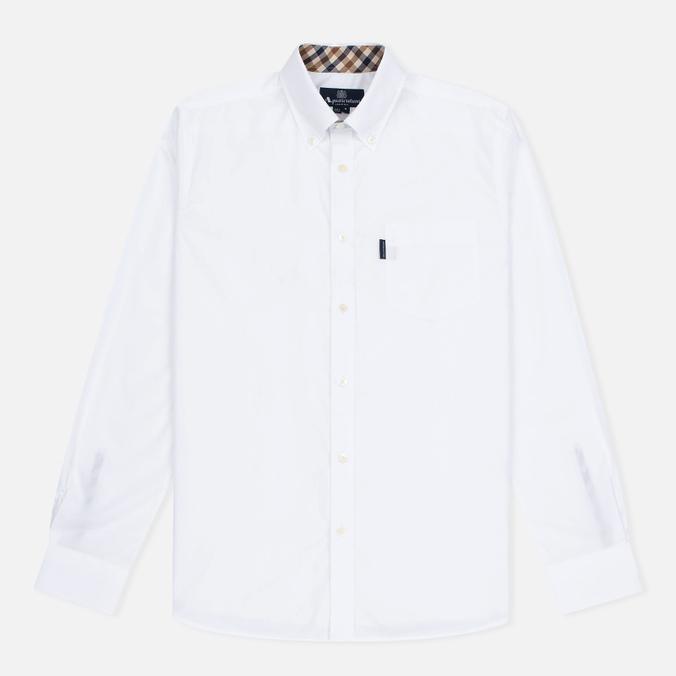 Aquascutum Eshton LS Men's Shirt White