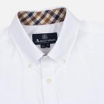 Мужская рубашка Aquascutum Eshton LS White фото- 1
