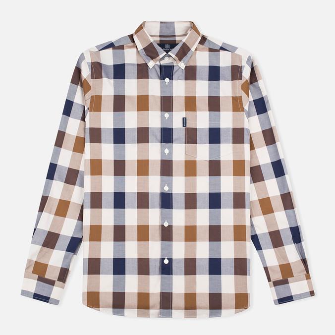 Мужская рубашка Aquascutum Harley 2 Club Check LS Vicuna