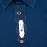 Мужская рубашка Aquascutum Hastings Indigo фото- 3