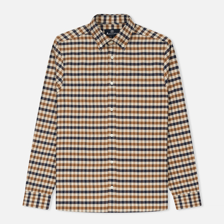 Мужская рубашка Aquascutum Magee Flannel Check Vicuna