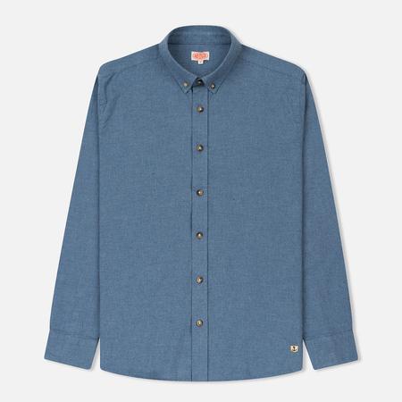 Мужская рубашка Armor-Lux Heritage Oxford Avio Blue