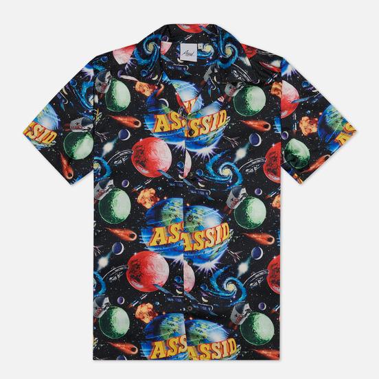 Мужская рубашка ASSID Bad World Hawaiian Black/Multicolor