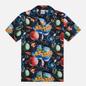 Мужская рубашка ASSID Bad World Hawaiian Black/Multicolor фото - 0