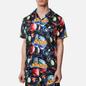 Мужская рубашка ASSID Bad World Hawaiian Black/Multicolor фото - 2