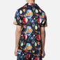 Мужская рубашка ASSID Bad World Hawaiian Black/Multicolor фото - 3