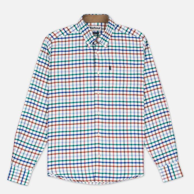 Barbour Albert Men's Shirt Plum