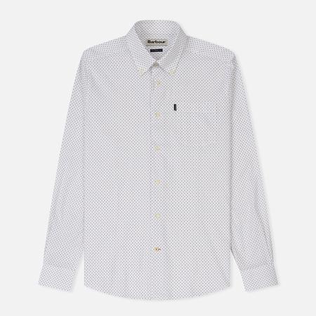Мужская рубашка Barbour All Over Printed Slim Fit White