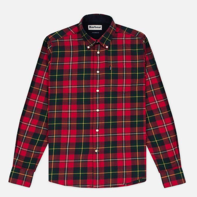 Barbour Alvin Men's Shirt Rich Red
