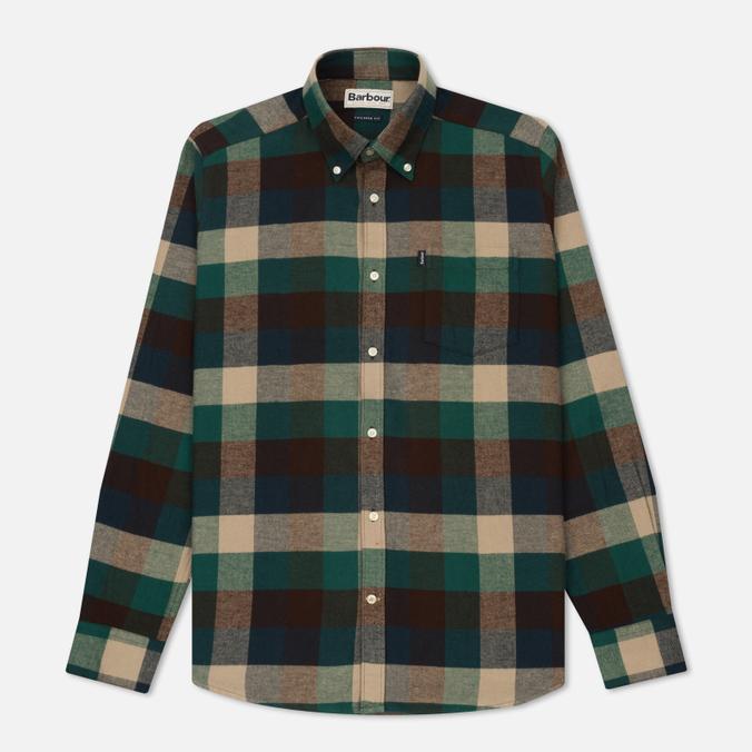 Мужская рубашка Barbour Angus Green