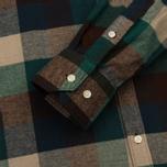 Мужская рубашка Barbour Angus Green фото- 3