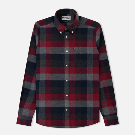 Мужская рубашка Barbour Angus Grey Marl