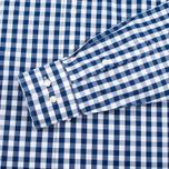 Мужская рубашка Barbour Auton Check Navy фото- 3