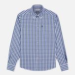 Мужская рубашка Barbour Auton Check Navy фото- 0
