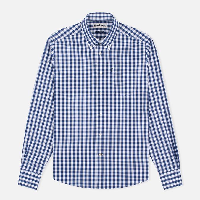 Мужская рубашка Barbour Auton Check Navy