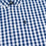 Мужская рубашка Barbour Auton Check Navy фото- 2