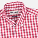 Мужская рубашка Barbour Auton Check Raspberry фото- 1