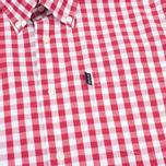 Мужская рубашка Barbour Auton Check Raspberry фото- 2