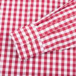 Мужская рубашка Barbour Auton Check Raspberry фото- 3