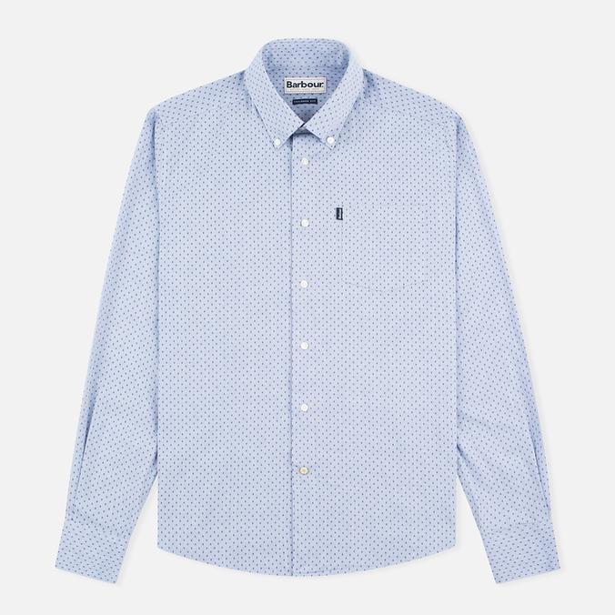Barbour Barney Chambray Men's Shirt Blue
