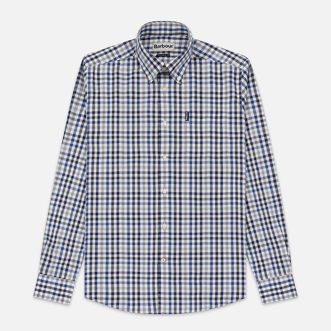 Мужская рубашка Barbour Bibury Grey