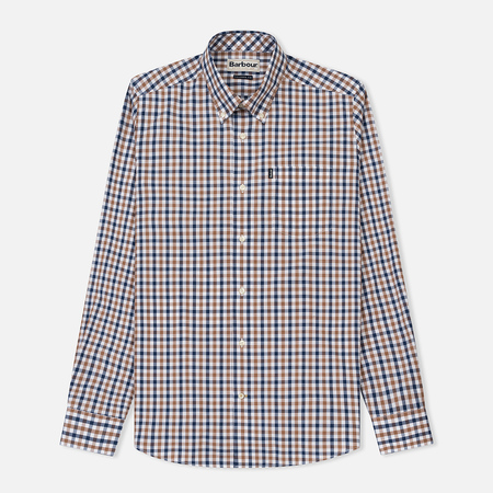 Мужская рубашка Barbour Bruce Mocha