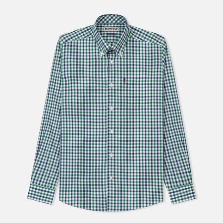 Мужская рубашка Barbour Bruce Racing Green