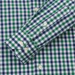 Мужская рубашка Barbour Bruce Racing Green фото- 3