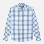 Мужская рубашка Barbour Bruce Sea Blue фото- 0