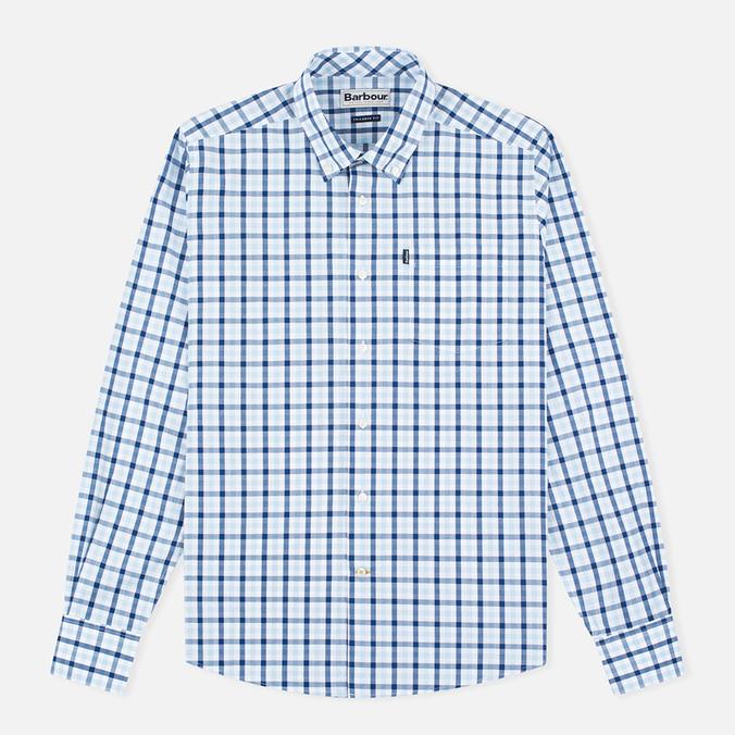 Мужская рубашка Barbour Bruce Sea Blue