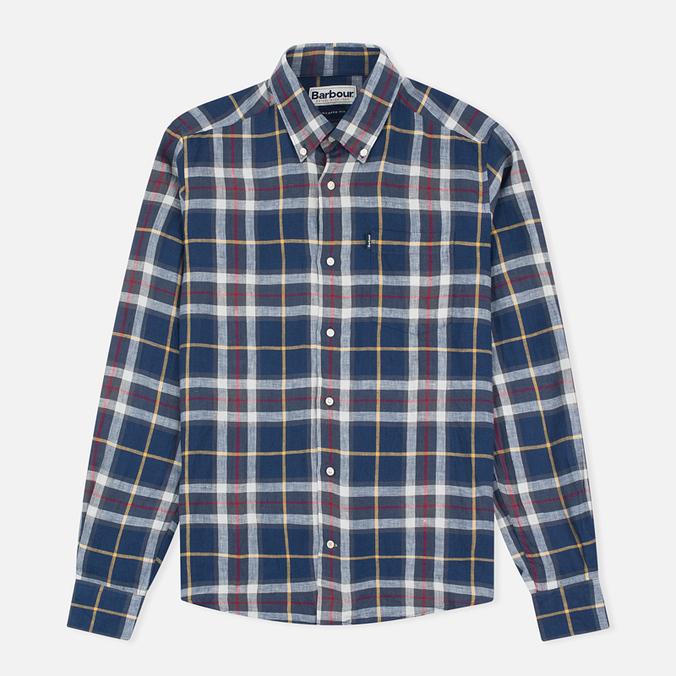 Мужская рубашка Barbour Calvert Check Navy
