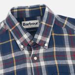 Мужская рубашка Barbour Calvert Check Navy фото- 1