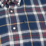 Мужская рубашка Barbour Calvert Check Navy фото- 2