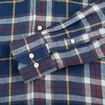 Мужская рубашка Barbour Calvert Check Navy фото- 3