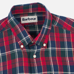 Мужская рубашка Barbour Calvert Check Rich Red фото- 1