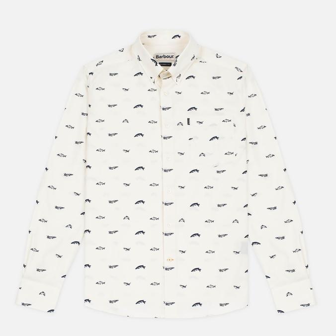 Мужская рубашка Barbour Carp Chalk