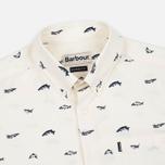 Мужская рубашка Barbour Carp Chalk фото- 1