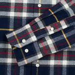 Мужская рубашка Barbour Castlebay Navy фото- 3