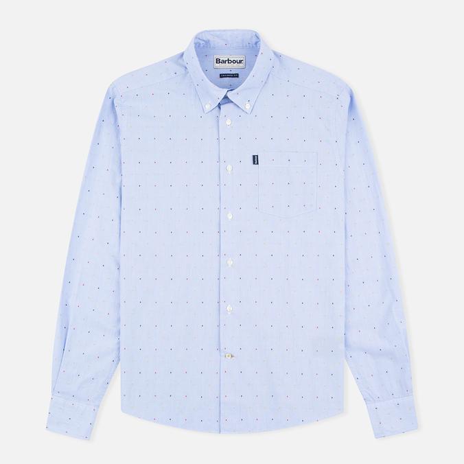 Barbour Cuthbert Men's Shirt Sky